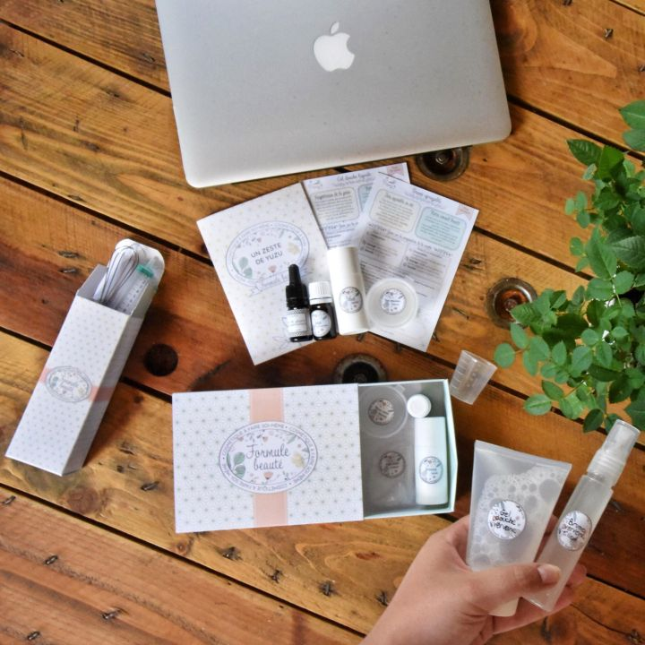 Fabriquer ses cosmétiques (naturels et bios) soi-même avec la box FormuleBeauté