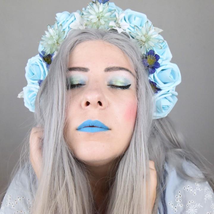 Maquillage inspiré d'une coiffe(vidéo)